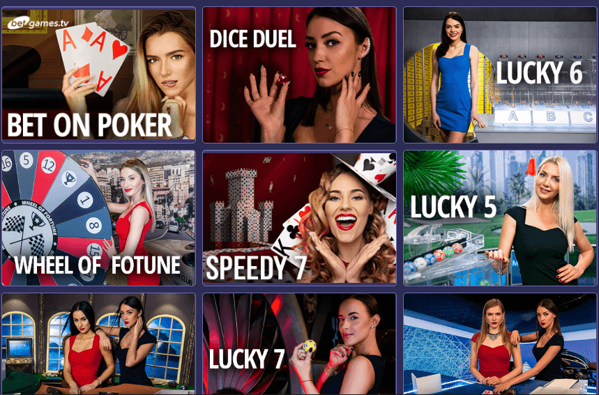 Игровые автоматы Live в First Casino
